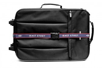 Suitcase strap with your own name
